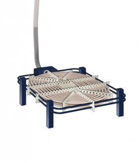 Flat Immersion Heater Assembly Type A